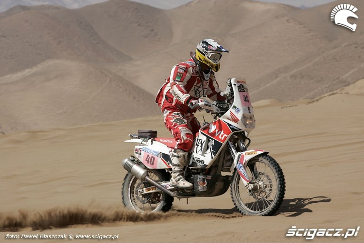 Rajd Dakar 2010 opuszcza pustynie