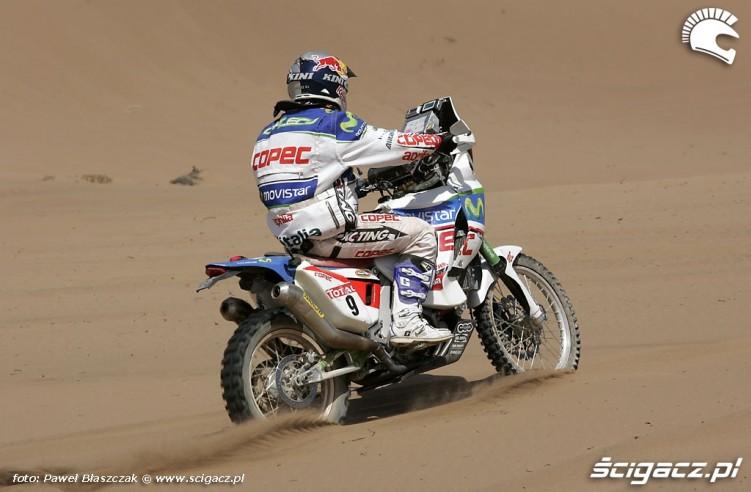 Rajd Dakar 2010 opuszcza pustynie 4