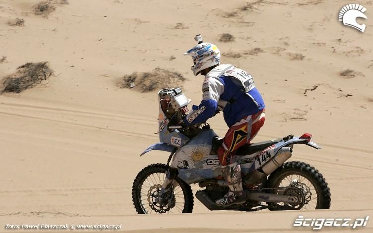 Rajd Dakar 2010 opuszcza pustynie 6
