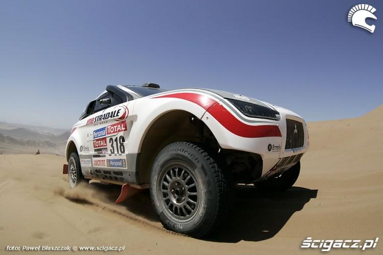 Rajd Dakar 2010 opuszcza pustynie BF Goodrich