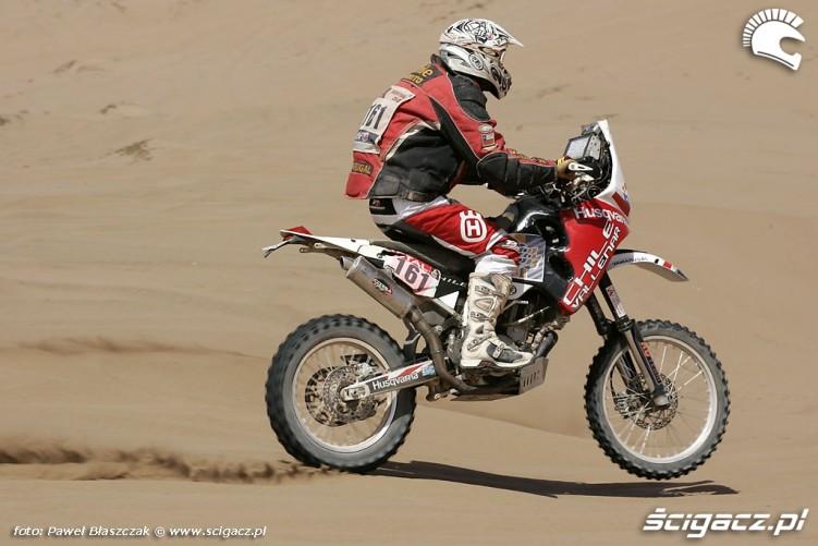 Rajd Dakar 2010 opuszcza pustynie Husqvarna