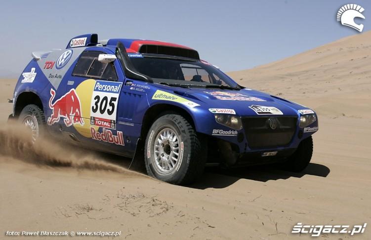 Rajd Dakar 2010 opuszcza pustynie Miller