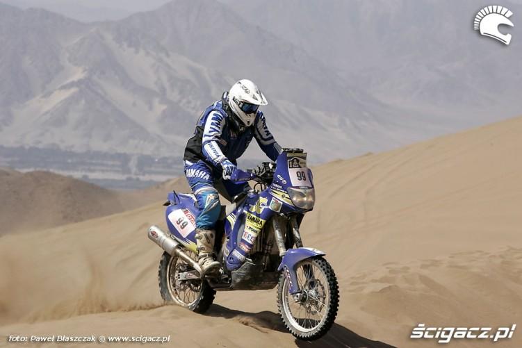 Rajd Dakar 2010 opuszcza pustynie Yamaha Racing