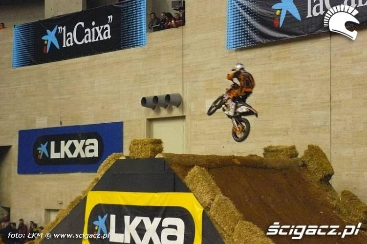 Taddy skacze Barcelona