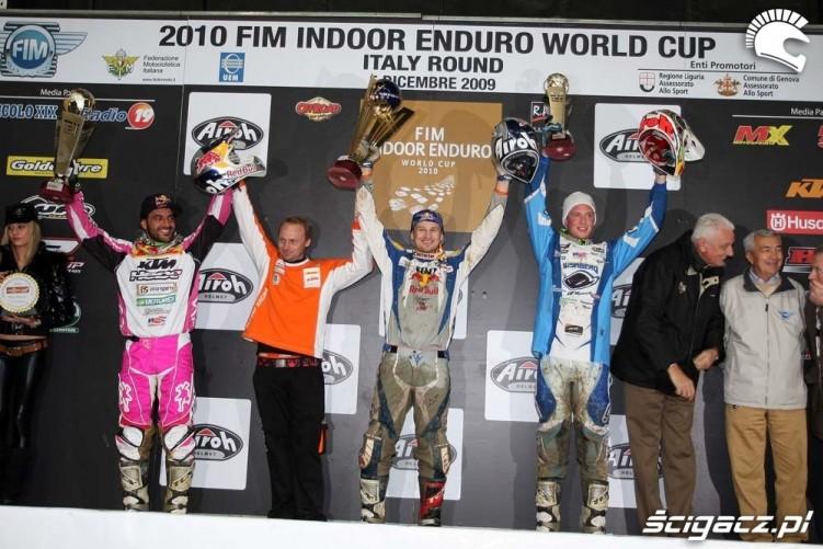 Taddy Blazusiak podium IEWC Genoa