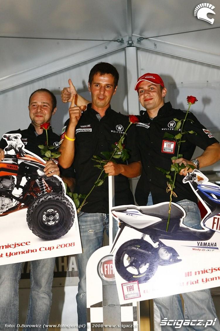 yamaha R1 klasyfikacja generalna podium vi runda wmmp poznan 2008 p mg 0024