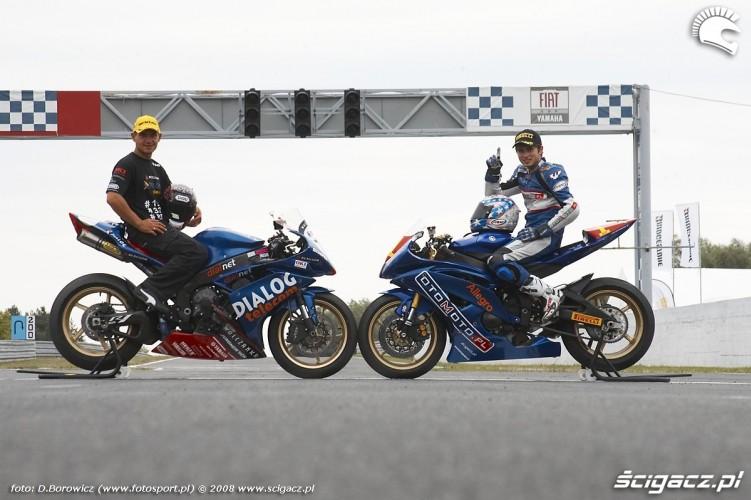zwyciezcy superbike superstock600 szkopek chmielewski vi runda wmmp poznan 2008 n mg 0293
