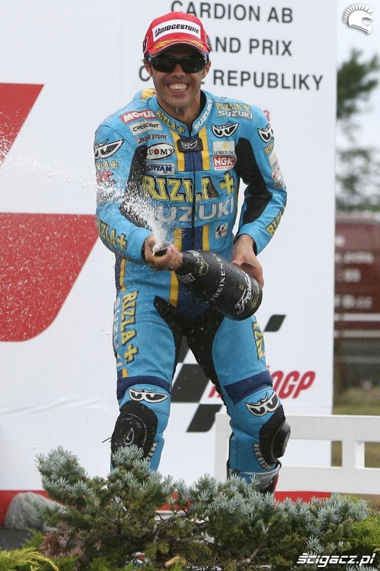 2008 Brno Capirossi ostatnie podium
