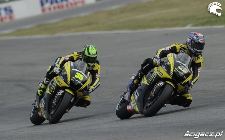 Edwards and Crutchlow