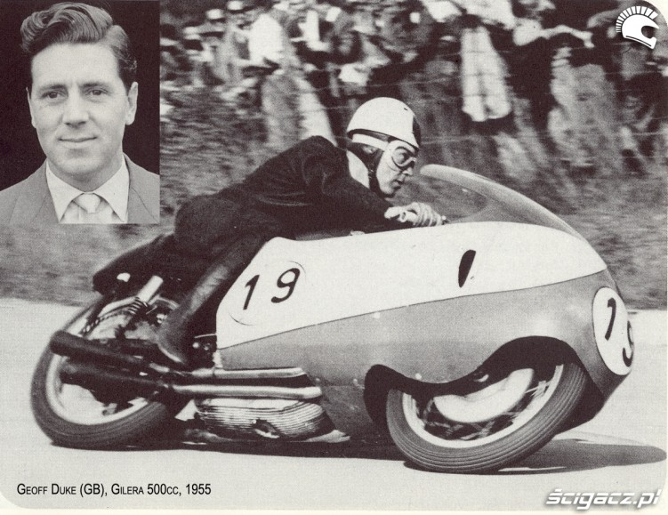 05) 1955 Gilera 500 cc Geoffrey Duke (6 Ms 33 GP)