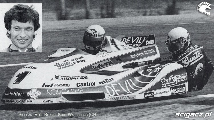 09) Sidecar z lat 90 Rolf Biland (1975-97 7 Ms 82 GP)