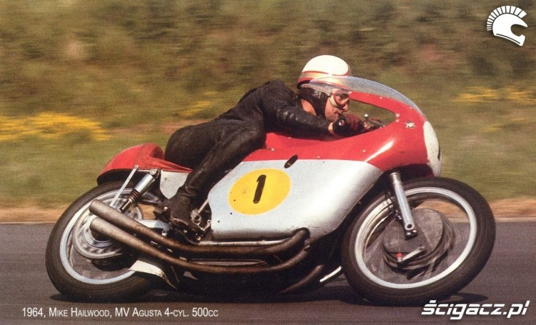13) 1964 MV Agusta 500cc Mike Hailwood (9 Ms i 76 GP)