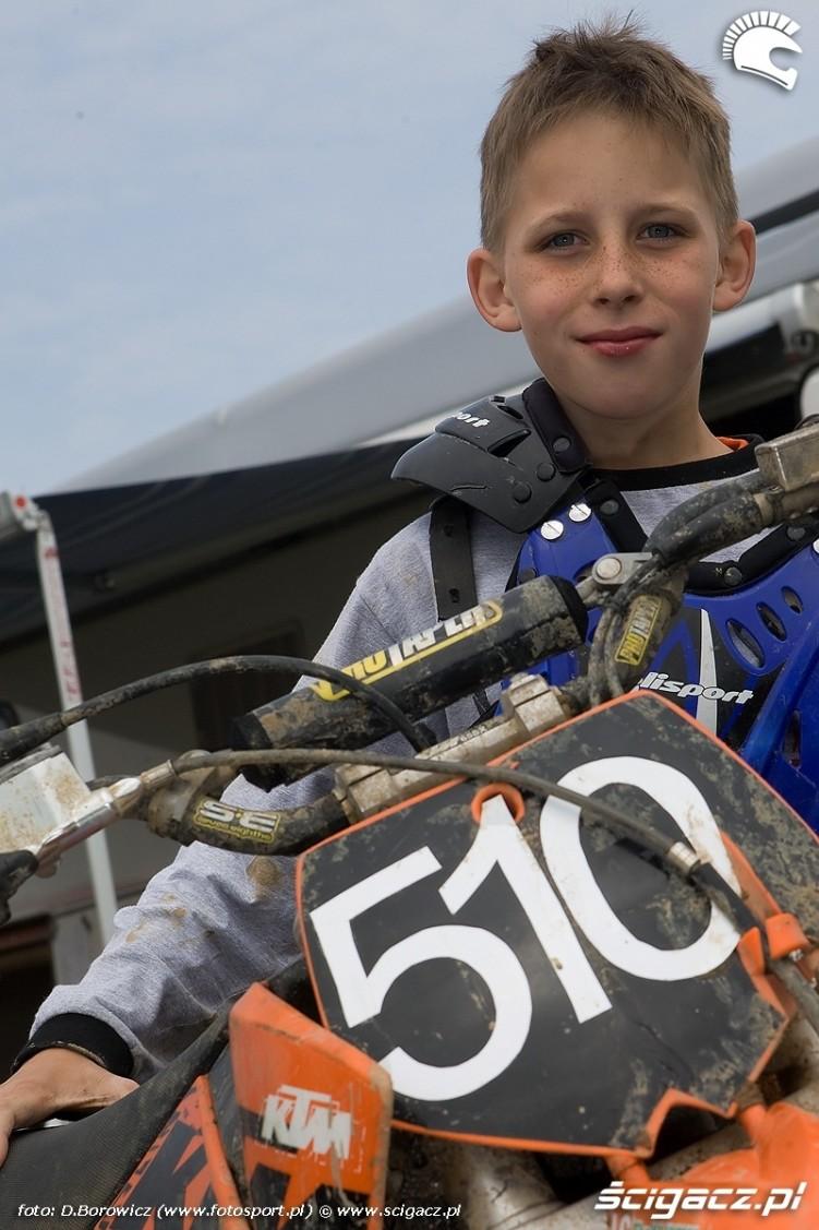 filip malenczuk motocross olsztyn 2010