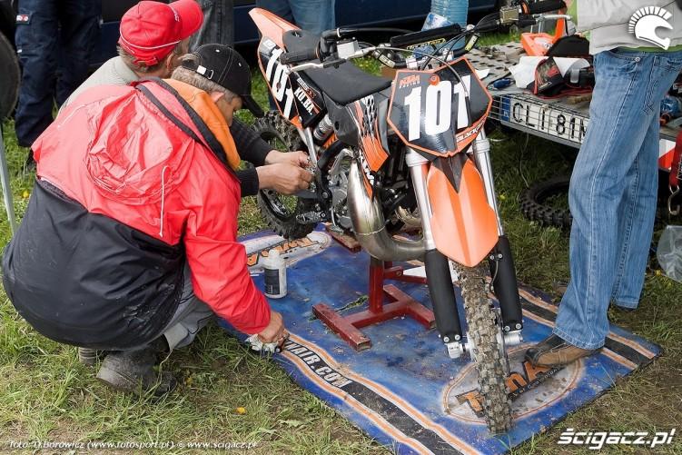 ktm zawodnicy mistrzostwa polski olsztyn motocross 2010