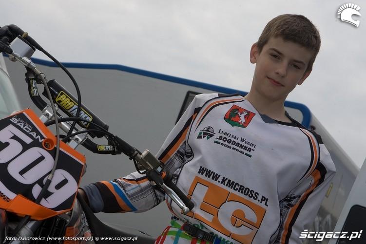 maciej sagan motocross olsztyn 2010