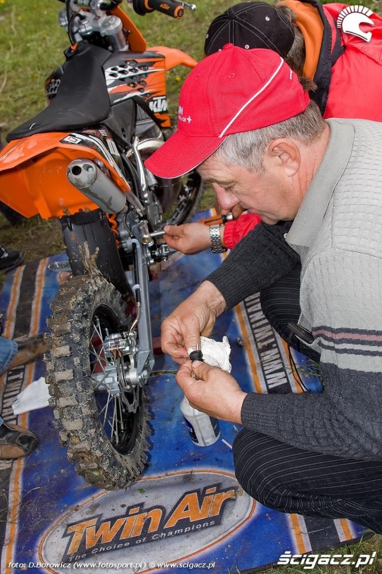 mx65 serwis motocykla motocross olsztyn 2010