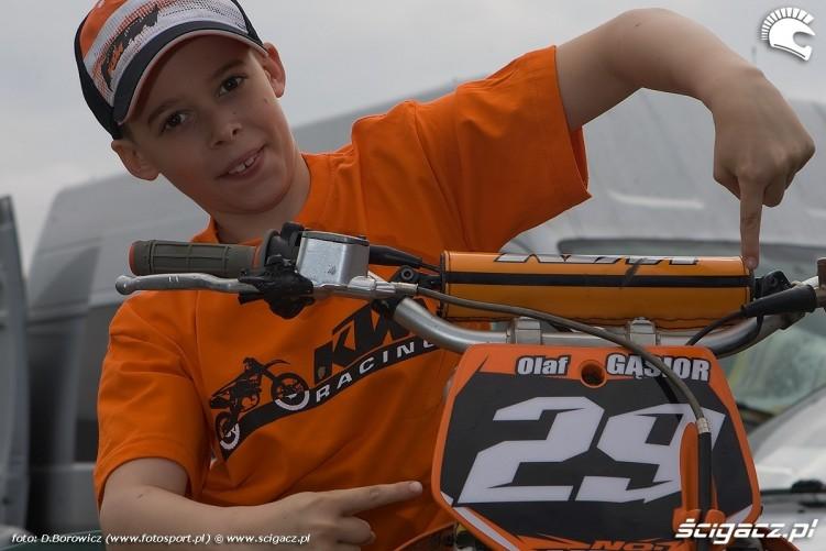 olaf gasior mistrzostwa polski olsztyn motocross 2010