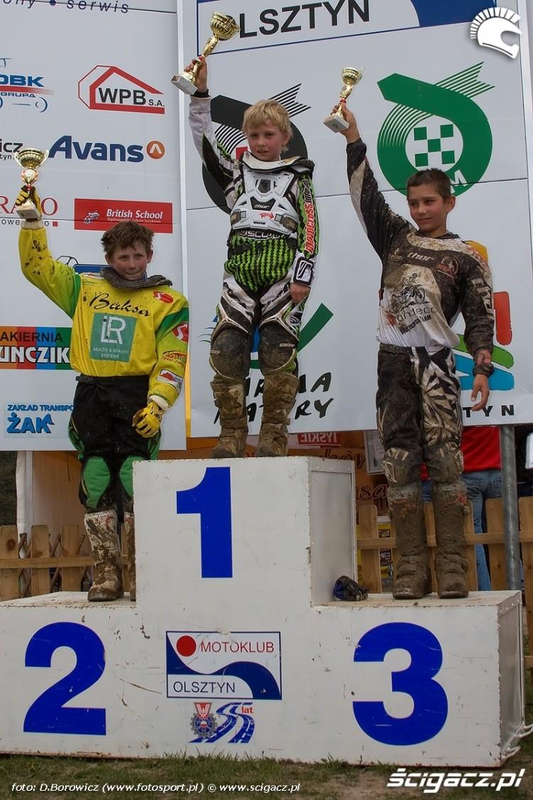 podium mx 65 motocross olsztyn 2010