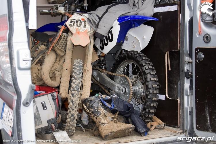 zapakowane motocykle na pace motocross olsztyn 2010