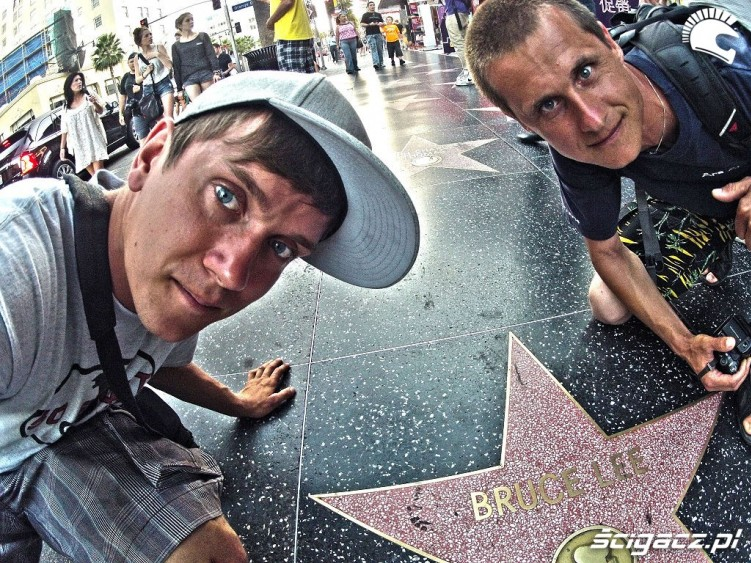 Hollywod Bruce Lee star