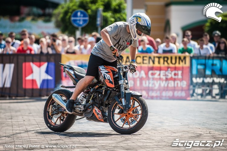 Karol Kulbacki drift Duke 125