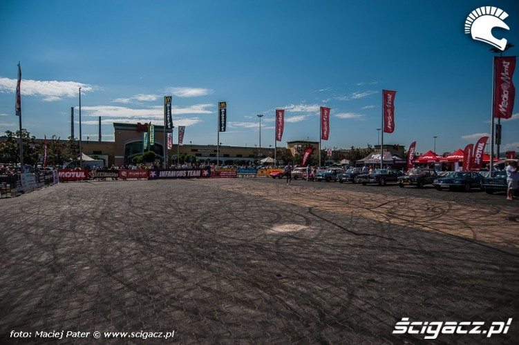 plac zawodow Cracow Stunt Cup