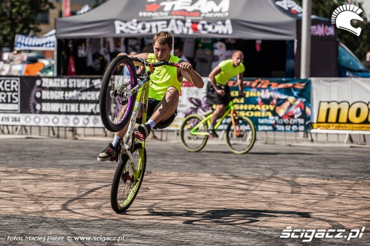 pokazy MTB Cracow Stunt Cup