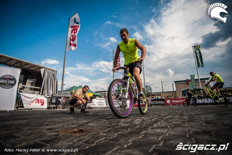 rowerowy stunt CSC