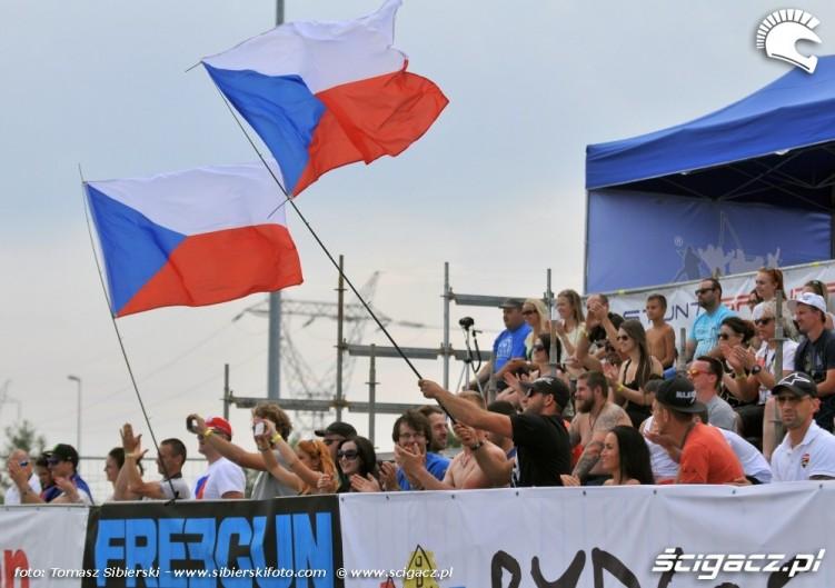 Czescy kibice Stunt GP 2014