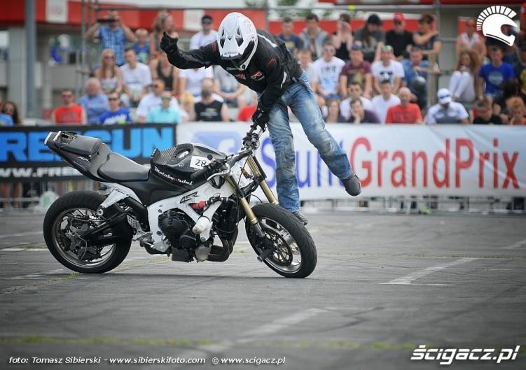 popisy Stunt GP 2014
