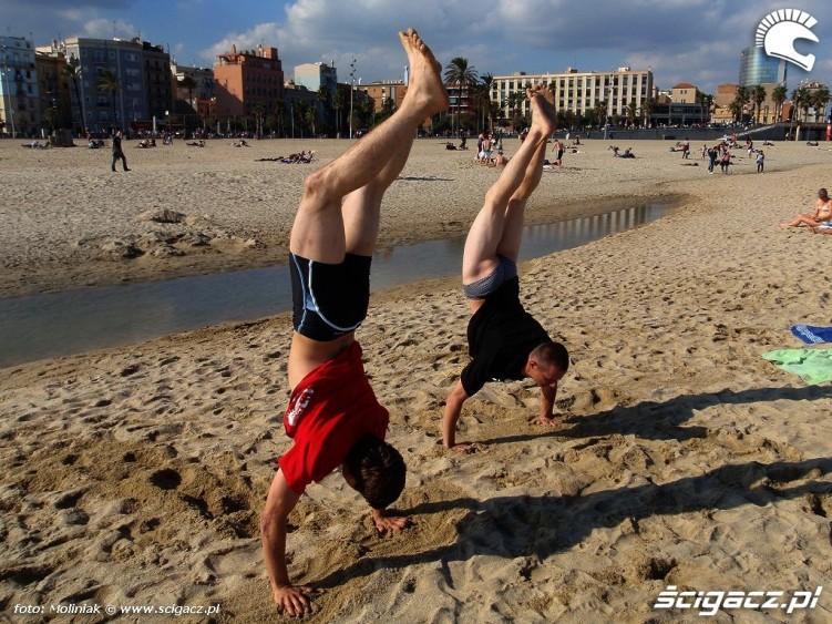Gimnastyka na plazy