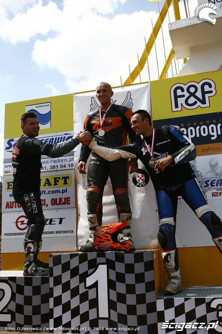 podium radom supermoto motocykle lipiec 2008 c mg 0068