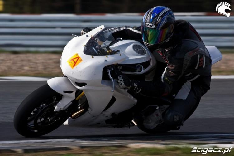 Piotr Betlej testy Honda