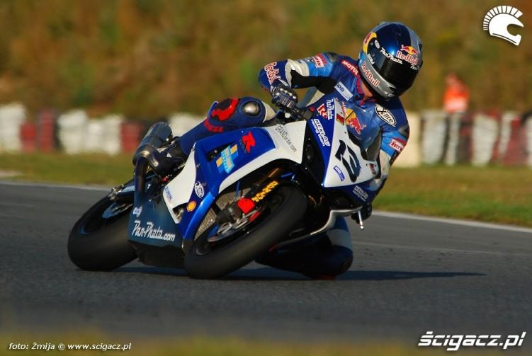 Andy Meklau Poznan race track