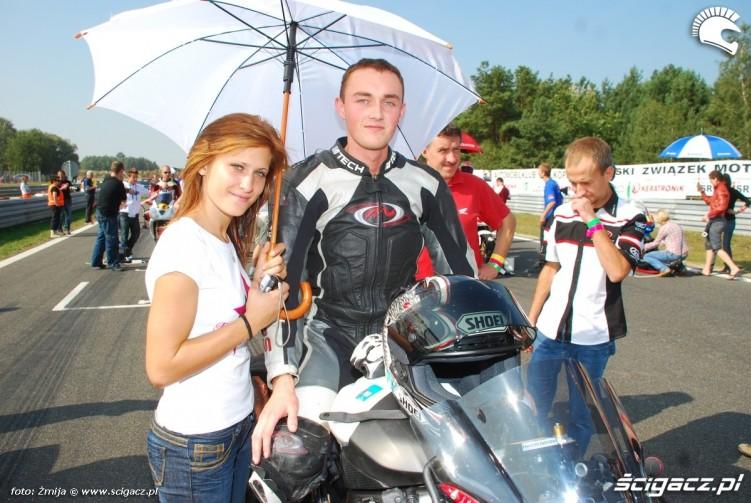 Olga Pawel przed startem