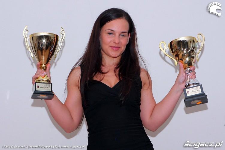 nagrody debiutantka roku rozdanie pucharow za sezon 2011