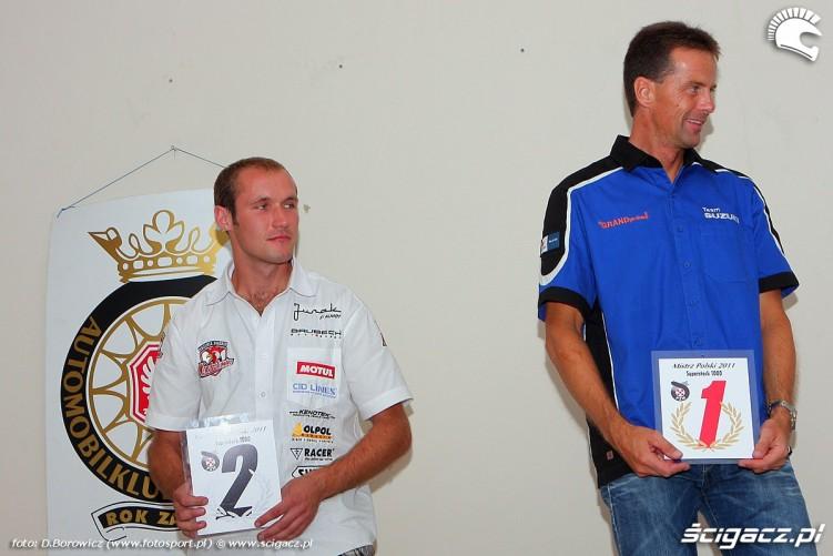 nagrody superstock 1000 mistrzostwa polski rozdanie pucharow za sezon 2011