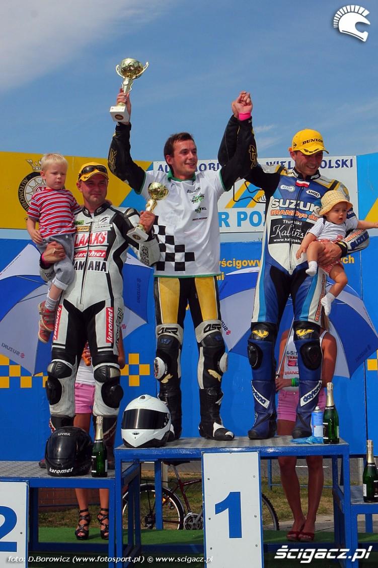 podium supersport superstock 600 wmmp vi runda niedziela
