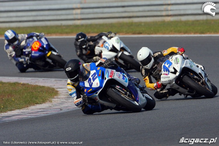 start supersport superstock 600 wyscig wmmp vi runda niedziela poznan 2011