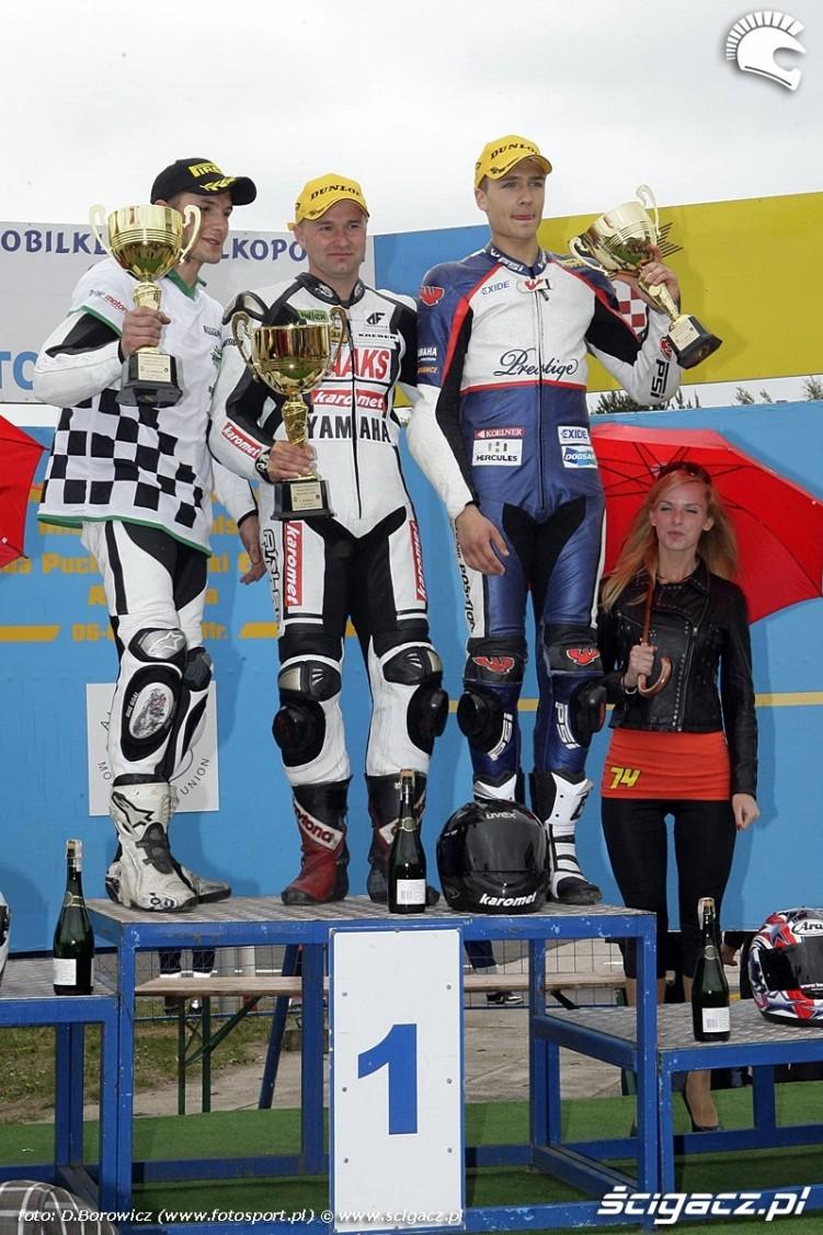 podium supersport niedziela poznan wmmp 2011