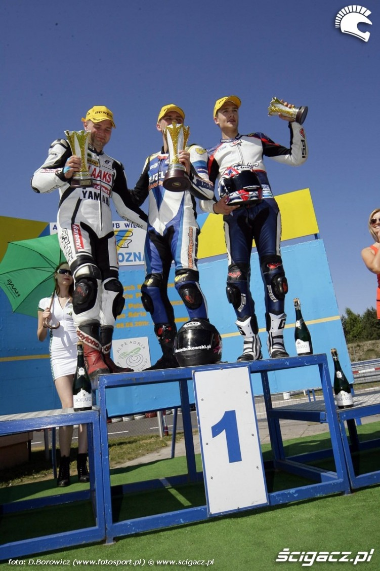 podium supersport poznan wmmp 2011