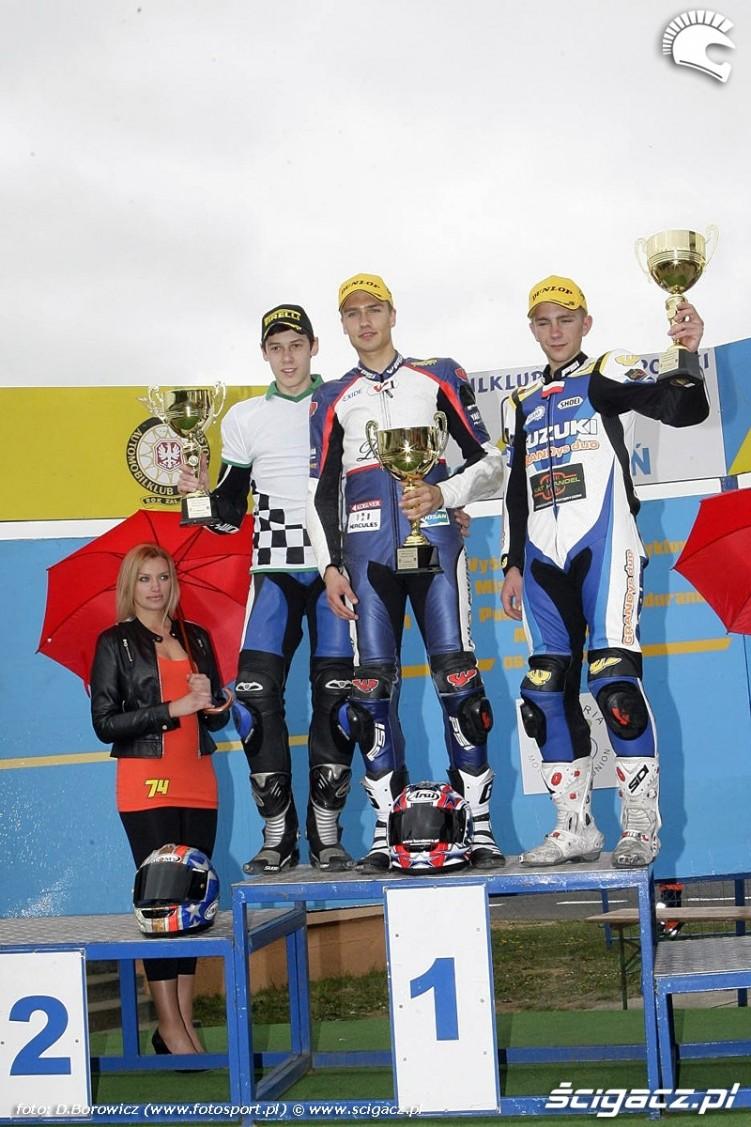 podium superstock 600 junior niedziela poznan wmmp 2011