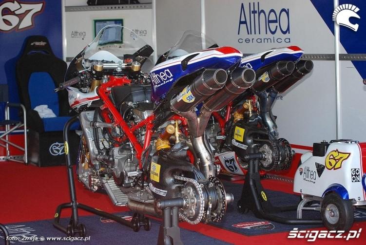 Boks Ducati Althea