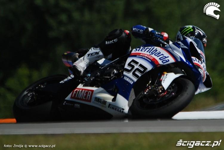 James Toseland World Superbike Brno 2010
