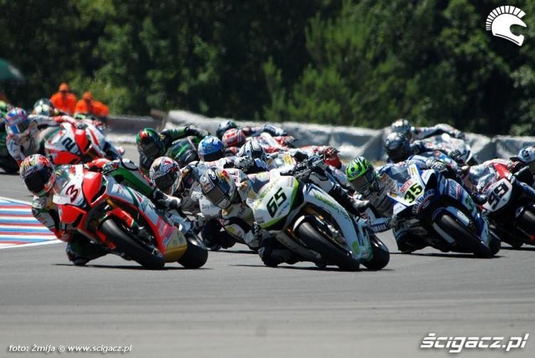 Wyscig klasy Superbike Brno 2010