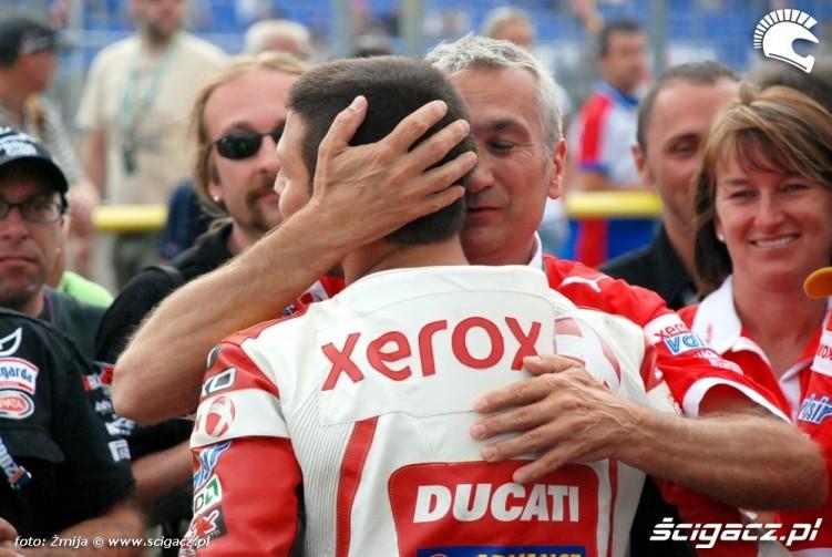 Michel David WSBK Brno Ducati Xerox Team