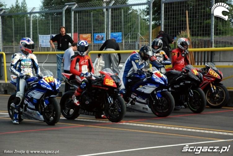World Superbike Brno Superstock600 pitlane