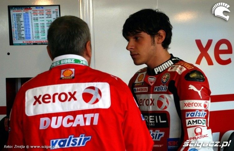 World Superbike Brno Xerox Ducati Team