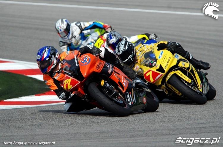 Fredrik Karlsen race Misano