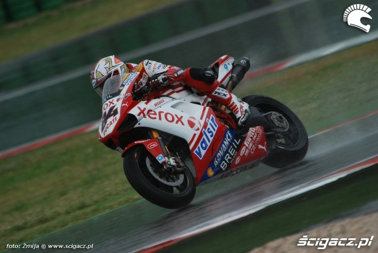 Michel Fabrizio photo wet race Misano